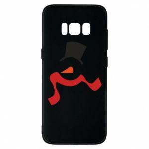Etui na Samsung S8 Snowman with a scarf