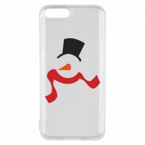 Etui na Xiaomi Mi6 Snowman with a scarf