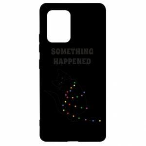 Etui na Samsung S10 Lite Something happened