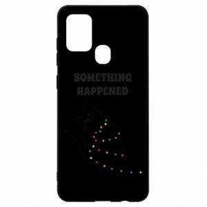 Samsung A21s Case Something happened