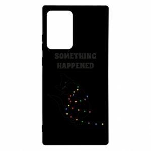 Etui na Samsung Note 20 Ultra Something happened