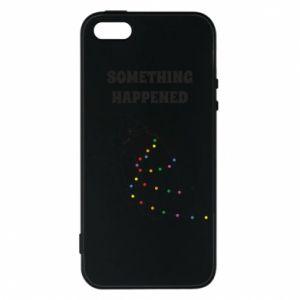 Etui na iPhone 5/5S/SE Something happened