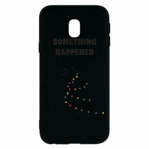 Phone case for Samsung J3 2017 Something happened