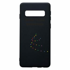 Phone case for Samsung S10 Something happened