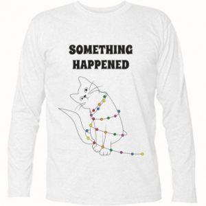 Koszulka z długim rękawem Something happened