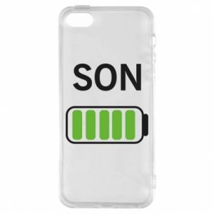 Phone case for iPhone 5/5S/SE Son charge - PrintSalon