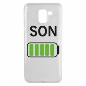 Phone case for Samsung J6 Son charge - PrintSalon