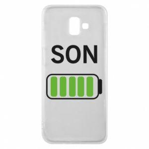 Phone case for Samsung J6 Plus 2018 Son charge - PrintSalon