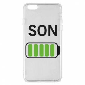 Phone case for iPhone 6 Plus/6S Plus Son charge - PrintSalon