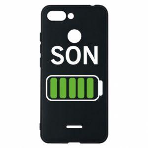 Phone case for Xiaomi Redmi 6 Son charge - PrintSalon