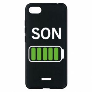 Phone case for Xiaomi Redmi 6A Son charge - PrintSalon