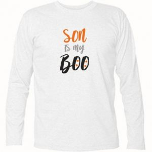 Long Sleeve T-shirt Son is my boo