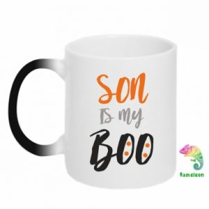 Chameleon mugs Son is my boo