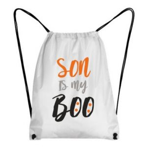 Backpack-bag Son is my boo - PrintSalon