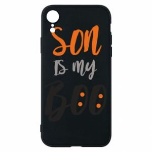 Phone case for iPhone XR Son is my boo - PrintSalon