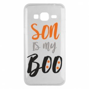 Phone case for Samsung J3 2016 Son is my boo - PrintSalon
