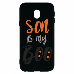 Phone case for Samsung J3 2017 Son is my boo - PrintSalon