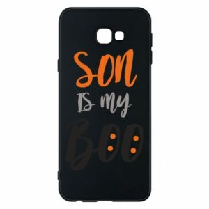 Phone case for Samsung J4 Plus 2018 Son is my boo - PrintSalon