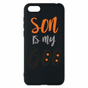 Phone case for Huawei Y5 2018 Son is my boo - PrintSalon