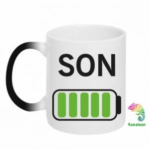 Chameleon mugs Son charge