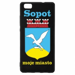 Huawei P8 Lite Case Sopot my city