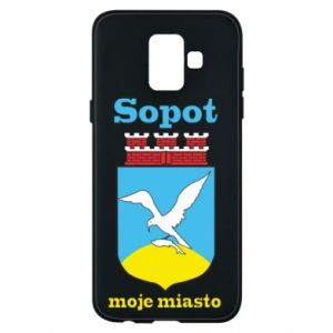Samsung A6 2018 Case Sopot my city