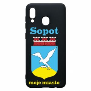 Samsung A20 Case Sopot my city