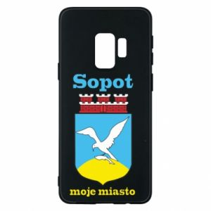Samsung S9 Case Sopot my city