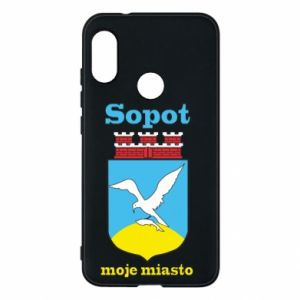 Mi A2 Lite Case Sopot my city