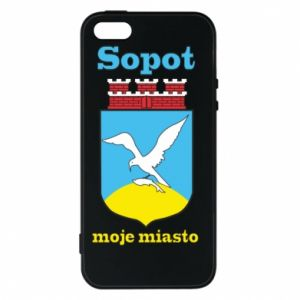 iPhone 5/5S/SE Case Sopot my city