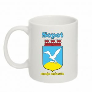 Mug 330ml Sopot my city