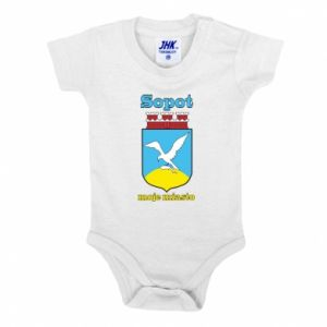 Baby bodysuit Sopot my city