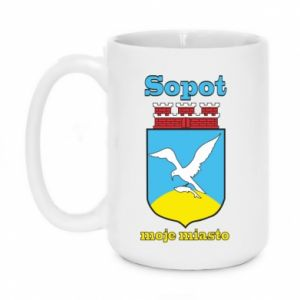 Mug 450ml Sopot my city