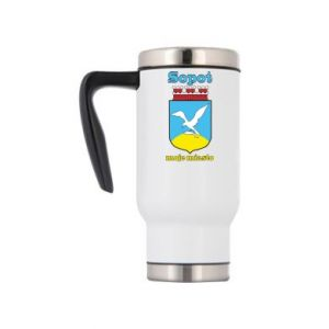 Travel mug Sopot my city