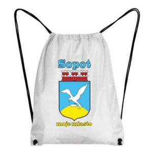 Backpack-bag Sopot my city