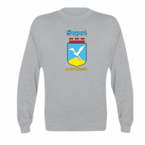 Kid's sweatshirt Sopot my city