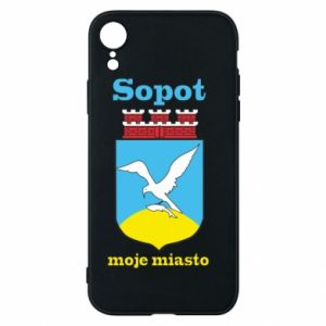 iPhone XR Case Sopot my city