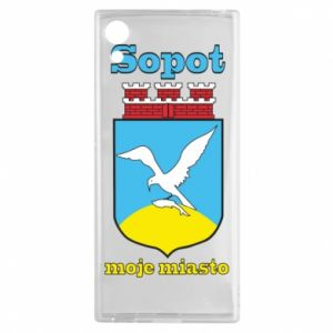 Sony Xperia XA1 Case Sopot my city