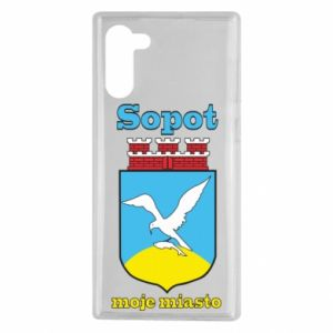 Samsung Note 10 Case Sopot my city