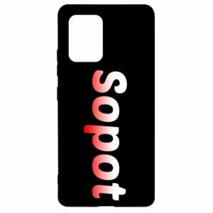 Samsung S10 Lite Case Sopot