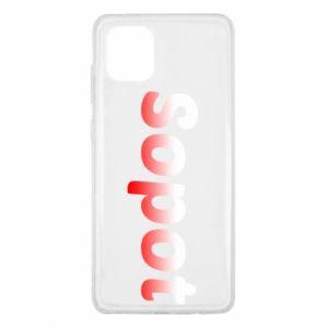 Samsung Note 10 Lite Case Sopot
