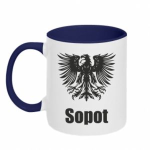 Two-toned mug Sopot
