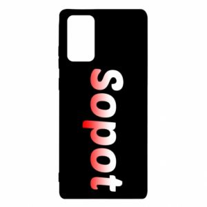 Samsung Note 20 Case Sopot