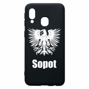 Etui na Samsung A40 Sopot - PrintSalon