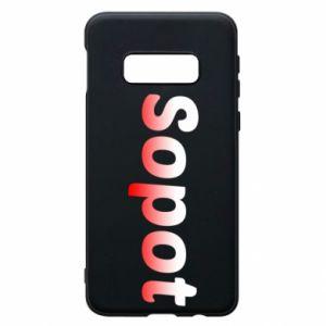 Samsung S10e Case Sopot