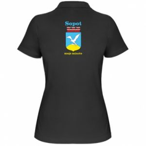 Women's Polo shirt Sopot my city
