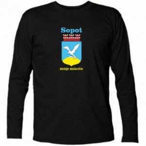 Long Sleeve T-shirt Sopot my city