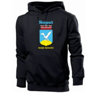 Men's hoodie Sopot my city
