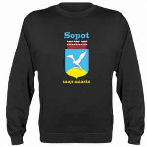 Sweatshirt Sopot my city