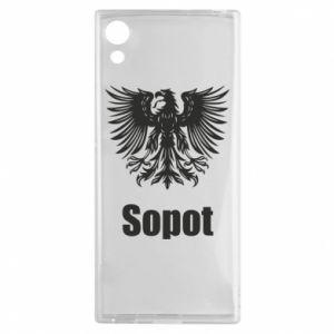 Męska koszulka sportowa I love Sopot - PrintSalon